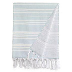Linum Home Textiles Ephesus Stripy Pestemal Beach Towel