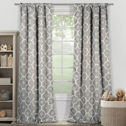 "Duck River 2-pack Ginger Blackout Curtains – 39"" x 84"""