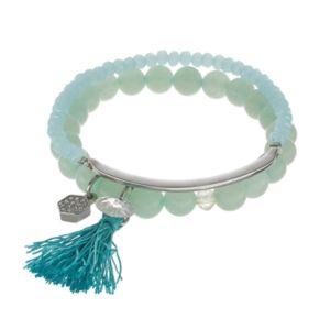 C.O. & Co. Beaded Stretch Bracelet Set