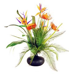 Designs by Lauren Artificial Tropical Garden Arrangement