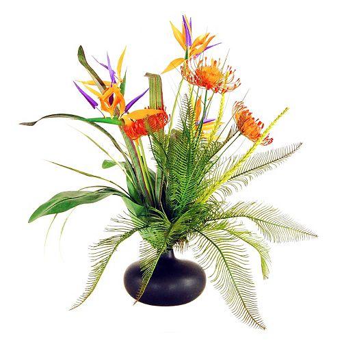 Designs by Lauren Artificial Tropical Garden Arrangement