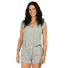 Women's PL Movement by Pink Lotus Mantra Hooded Romper