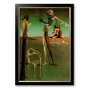 """Art.com """"Woman with a Head of Roses"""" Framed Wall Art by Salvador Dali"""