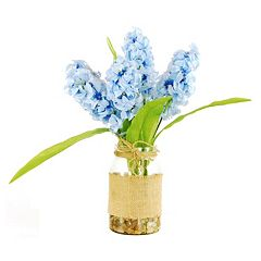 Designs by Lauren Artificial Hyacinths Arrangement