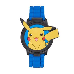 Pokémon Kids' Pikachu Flip-Up Digital Watch