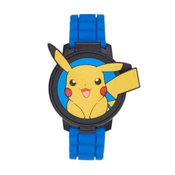 Pokémon Kids' Pikachu Flip-Up Digital Watch