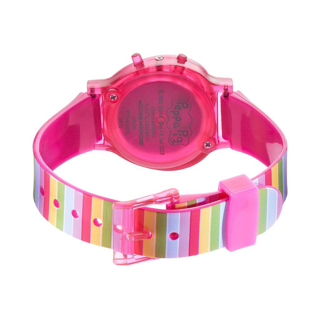 Peppa Pig Kids' Digital Light-Up Heart Watch
