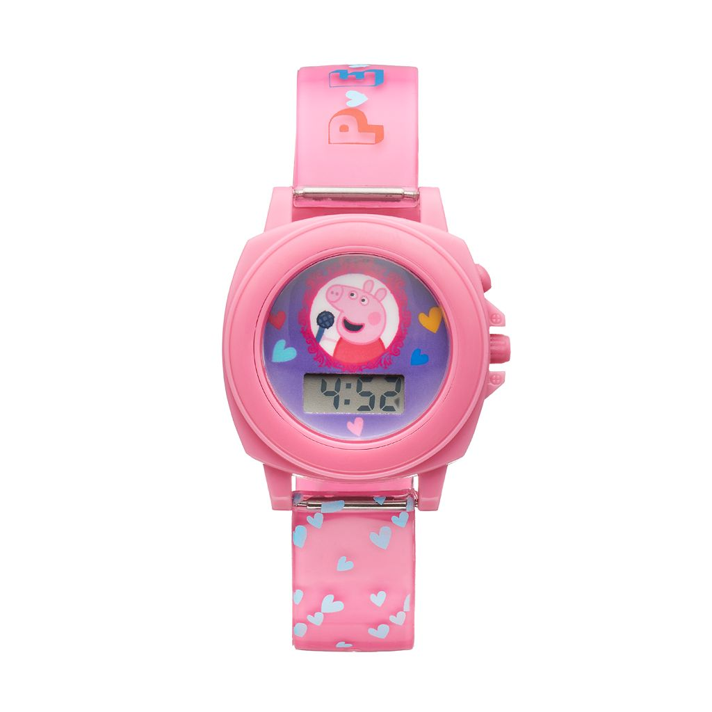 Peppa Pig Kids' Digital Sound Effects & Theme Song Watch