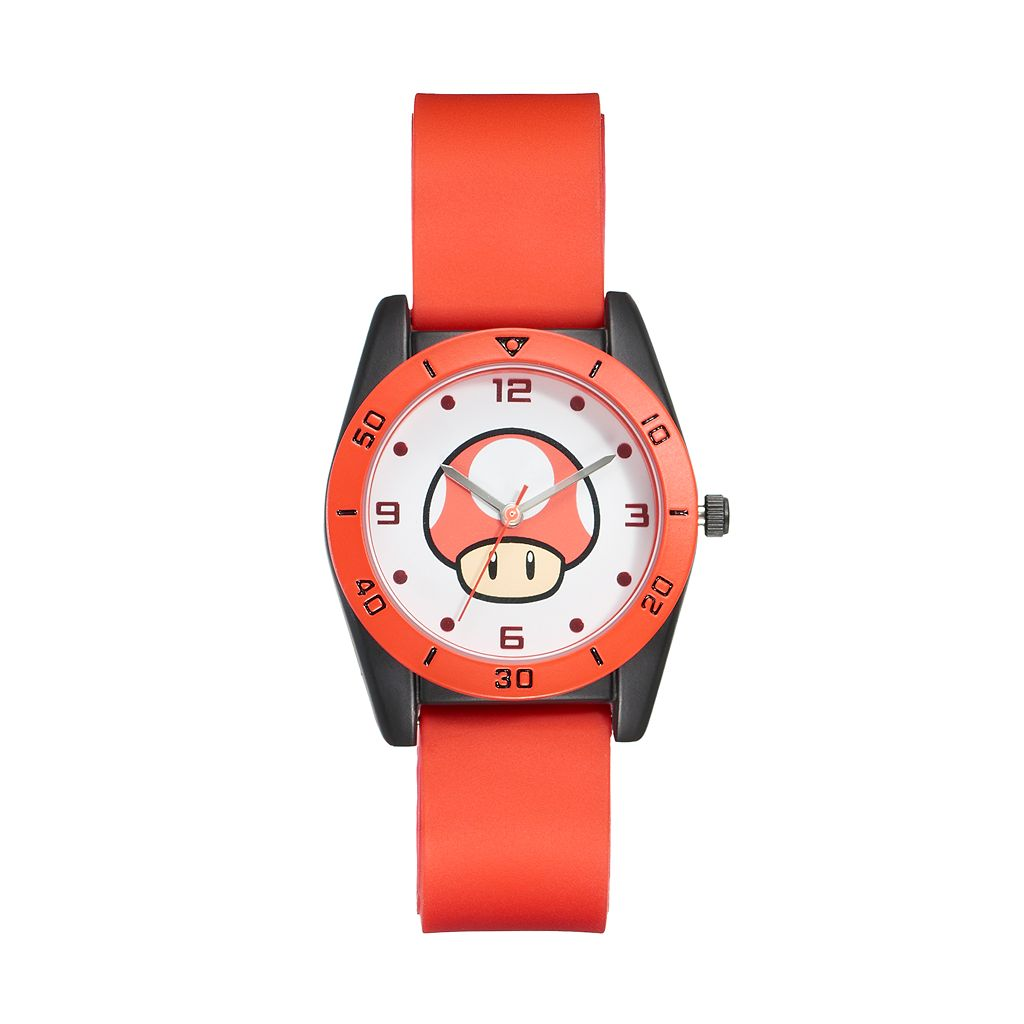 Super Mario Bros. Super Mushroom Kids' Watch