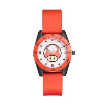 Super Mario Bros. Super Mushroom Kids' Watch