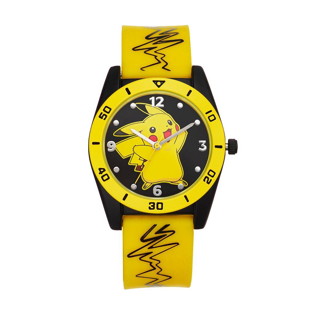 Pokémon Kids' Pikachu Watch