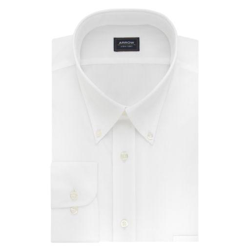Men's Arrow Regular-Fit Wrinkle-Resistant Dress Shirt