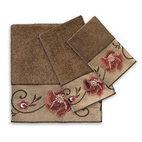 Popular Bath Larrisa 3-piece Towel Set