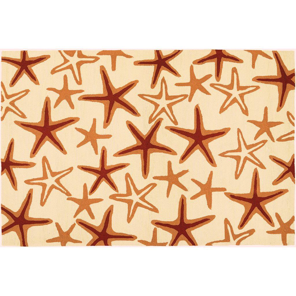 Couristan Beachfront Starfish Indoor Outdoor Rug