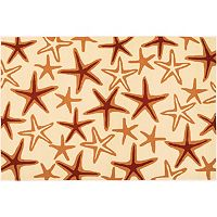 Couristan Beachfront Starfish Indoor Outdoor Rug