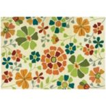 Couristan Beachfront Poppy Field Floral Indoor Outdoor Rug