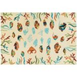 Couristan Beachfront Ocean Floor Indoor Outdoor Rug