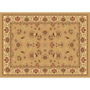 Rugs America New Vision Kashan Framed Floral Rug