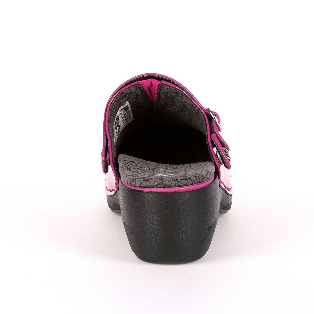 Rocky 4EurSole Inspire Me Women's Patent Leather 3-in-1 Clogs