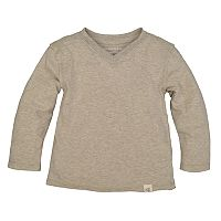 Toddler Boy Burt's Bees Baby Organic High-V Long Sleeve Tee