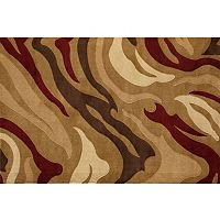 Rugs America Torino Jungle Abstract Rug