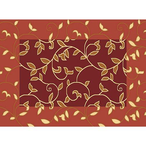 Rugs America Torino Vineyard Floral Rug