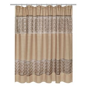 Popular Bath Spindle Shower Curtain