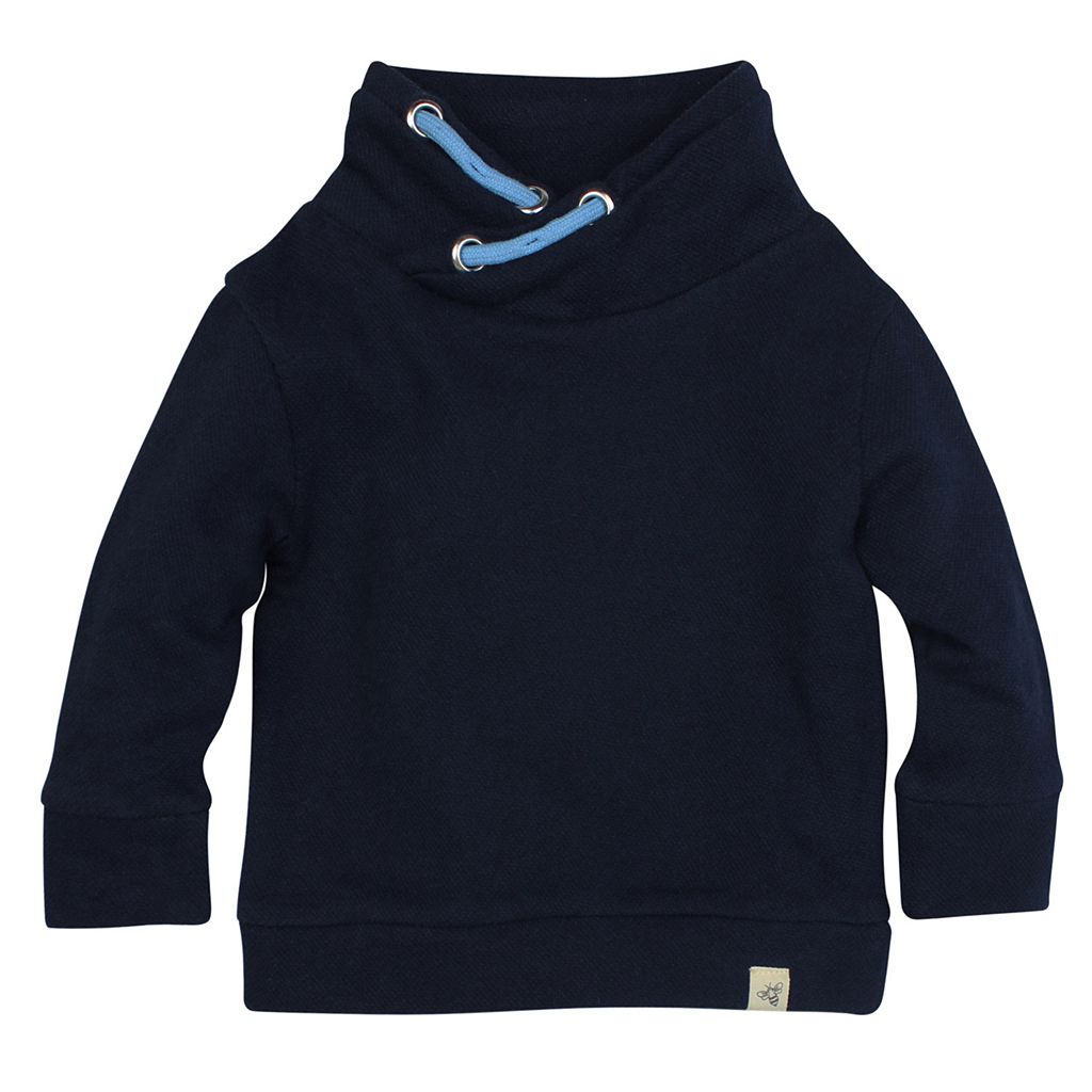 Toddler Boy Burt's Bees Baby Organic Loose Pique Applique Sweatshirt
