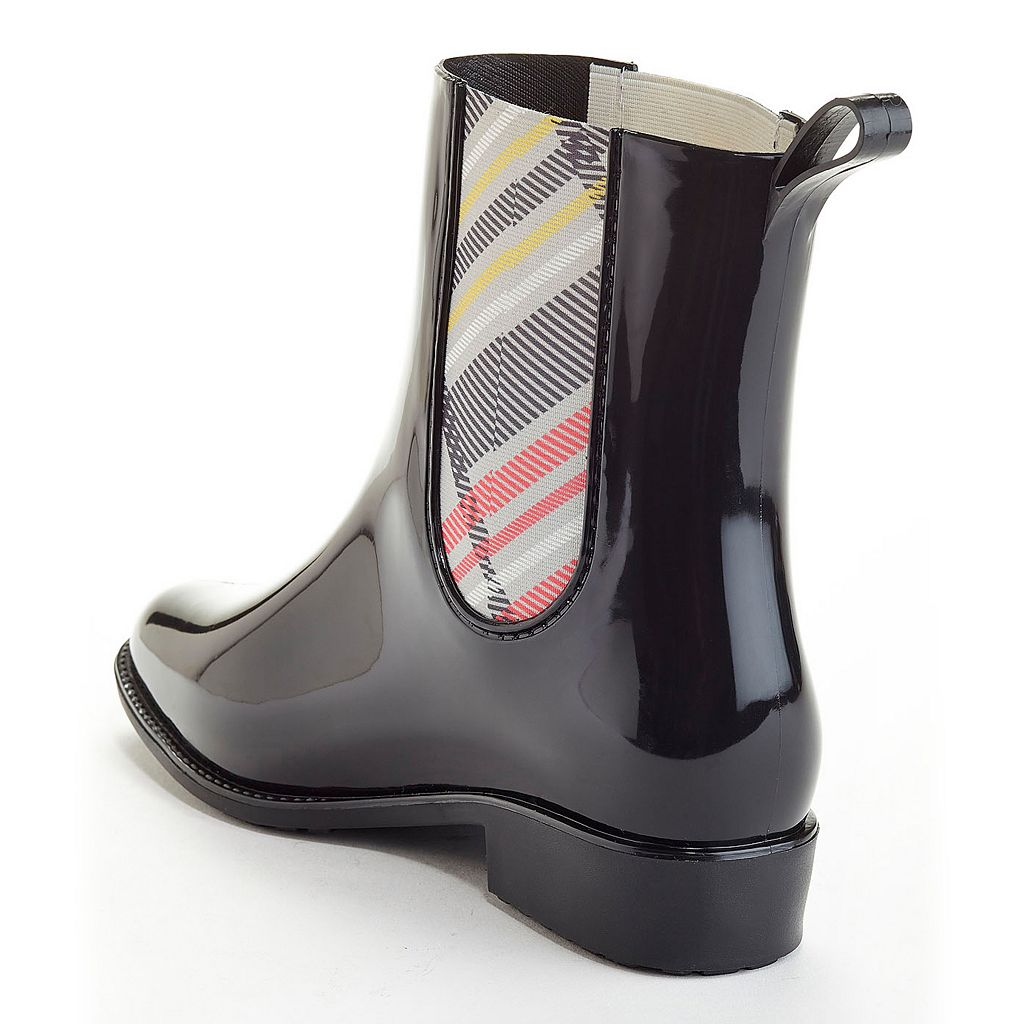 Henry Ferrera Clarity Women's Water-Resistant Plaid Rain Boots