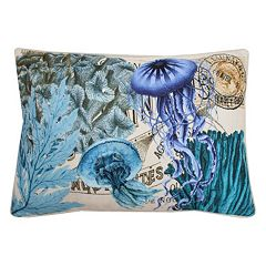 Thro by Marlo Lorenz French Coastal Jellyfish Throw Pillow