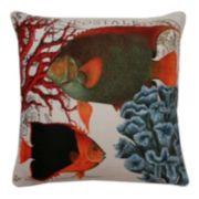 Thro by Marlo Lorenz French Coastal Fish Throw Pillow