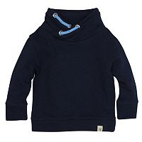 Baby Boy Burt's Bees Baby Organic Loose Pique Applique Sweatshirt