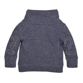 Baby Boy Burt's Bees Baby Organic Loose Pique Applique Sweatshirt