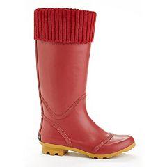 Henry Ferrera KC Women's Water-Resistant Cuff Rain Boots