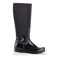 Henry Ferrera Gatsby Women's Water-Resistant Zipper Rain Boots