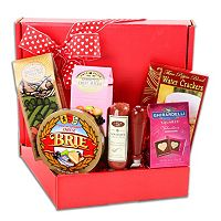 Alder Creek Valentine's Day Gourmet Meat & Cheese Gift Box
