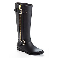 Henry Ferrera Bond Women's Water-Resistant Zipper Rain Boots