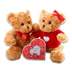 Alder Creek Hugs & Kisses Bear Plush Gift Set