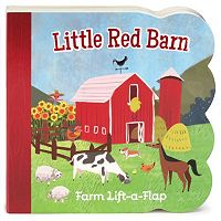 Little Red Barn Lift-a-Flap Board Book