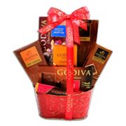 Alder Creek Godiva Chocolate Devotion Gift Basket