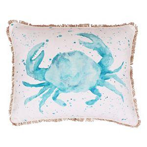 THRO by Marlo Lorenz Carmello Crab Throw Pillow