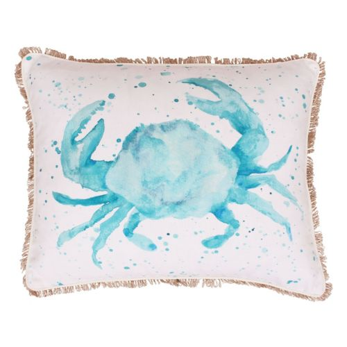 Thro by Marlo Lorenz Carmello Crab Throw Pillow