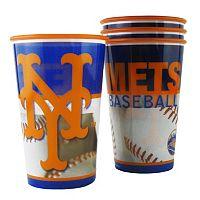 Boelter New York Mets 4-Pack Souvenir Plastic Cups