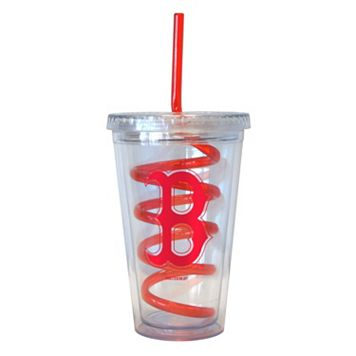 Boelter Boston Red Sox Swirl Straw Tumbler