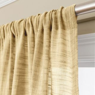 Corona Window Curtain Charlet Ocean Rod Pocket Window Curtain