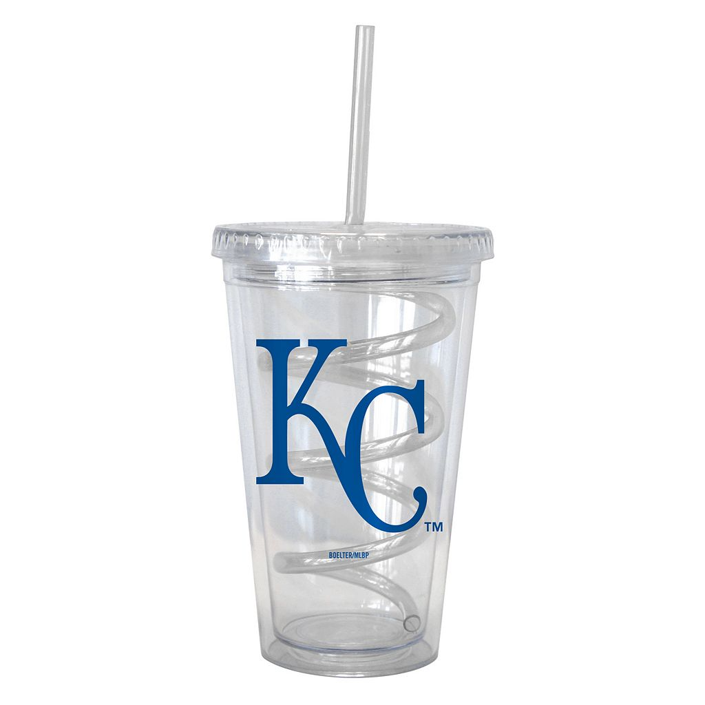 Boelter Kansas City Royals Swirl Straw Tumbler