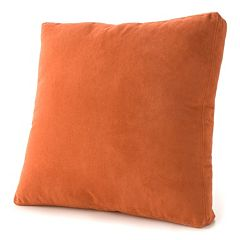 Bwood Heavyweight Faux Suede Box Pillow