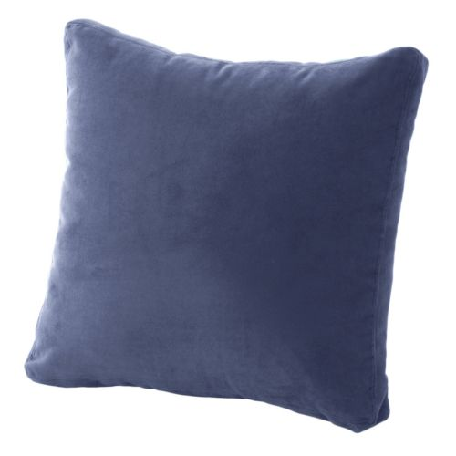 Brentwood Heavyweight Faux-Suede Box Pillow