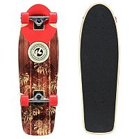 Kryptonics 28 in In Lay Palm Graphic Cruiser Skateboard