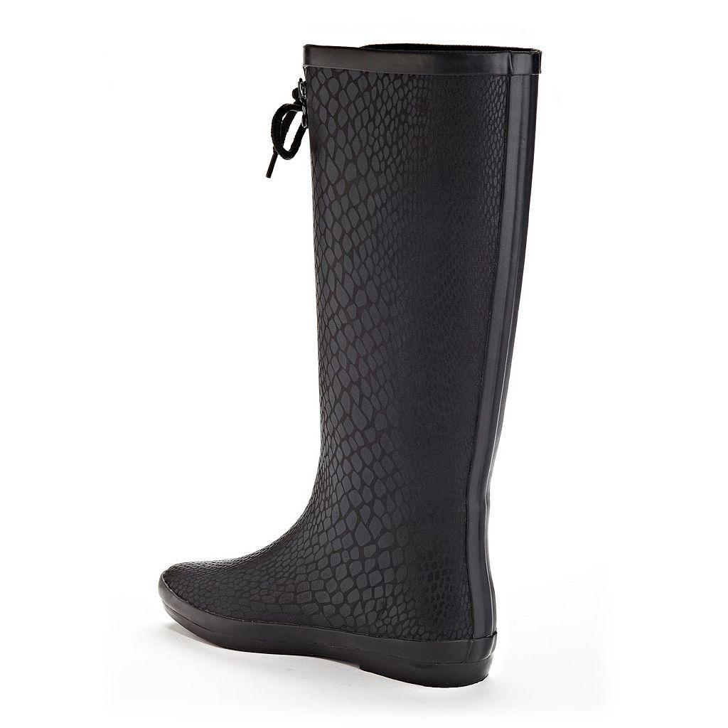 Henry Ferrera Blooming Women's Water-Resistant Rain Boots